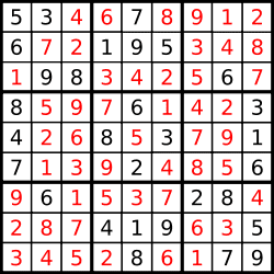 Sudoku - Rules and strategy of sudoku games